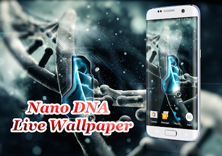 Nano dna live wallpaper android apps on google play nano dna live wallpaper screenshot thumbnail voltagebd Choice Image