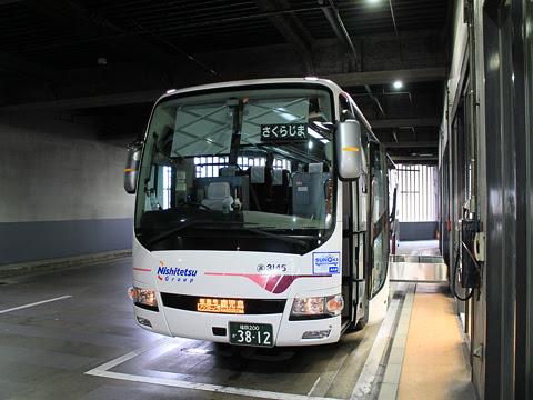 西鉄高速バス「桜島号」 3145 リア