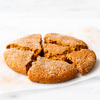 Soft-Baked Pumpkin Snickerdoodle Cookie.
