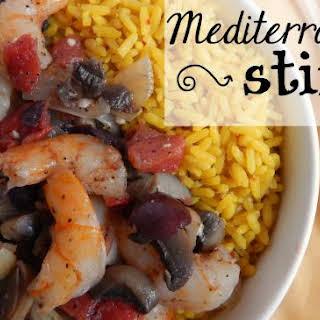Mediterranean Stir Fry.