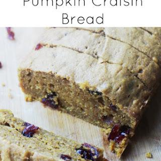 Pumpkin Craisin Bread