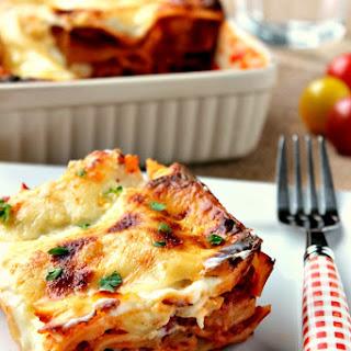 Smoked Bacon and Tomato Lasagne