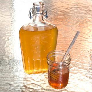 DIY Honey Liqueur.