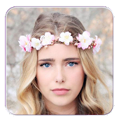 Flower Crown Hairstyle Maker
