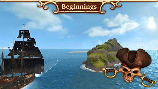 Ships of Battle Age of Pirates  captures d'u00e9cran 1