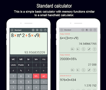 HiEdu Scientific Calculator Pro (MOD, Paid) v1.1.0 2