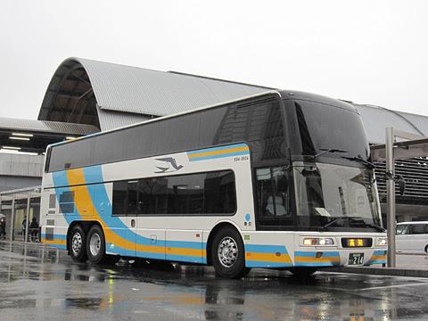 JR四国バス「ドリーム高知号」・214 プレミアムシート搭載車