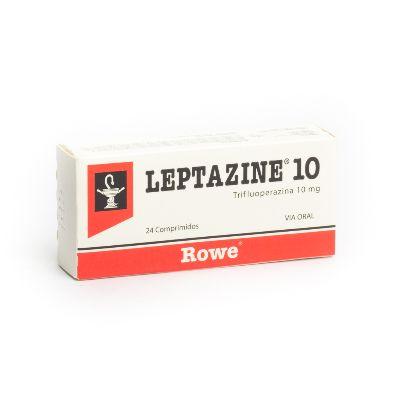 Trifluoperazina Leptazine 10 mg x 24 Comprimidos  Rowe 10 mg x 24 Comprimidos