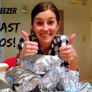 The BEST breakfast burritos (for the freezer!).