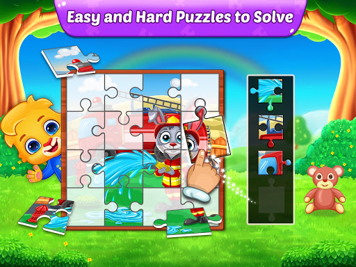 Puzzle Kids - Animals Shapes and Jigsaw Puzzles screenshots 23