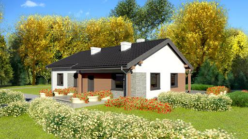 projekt Dom przy Bukowej 3