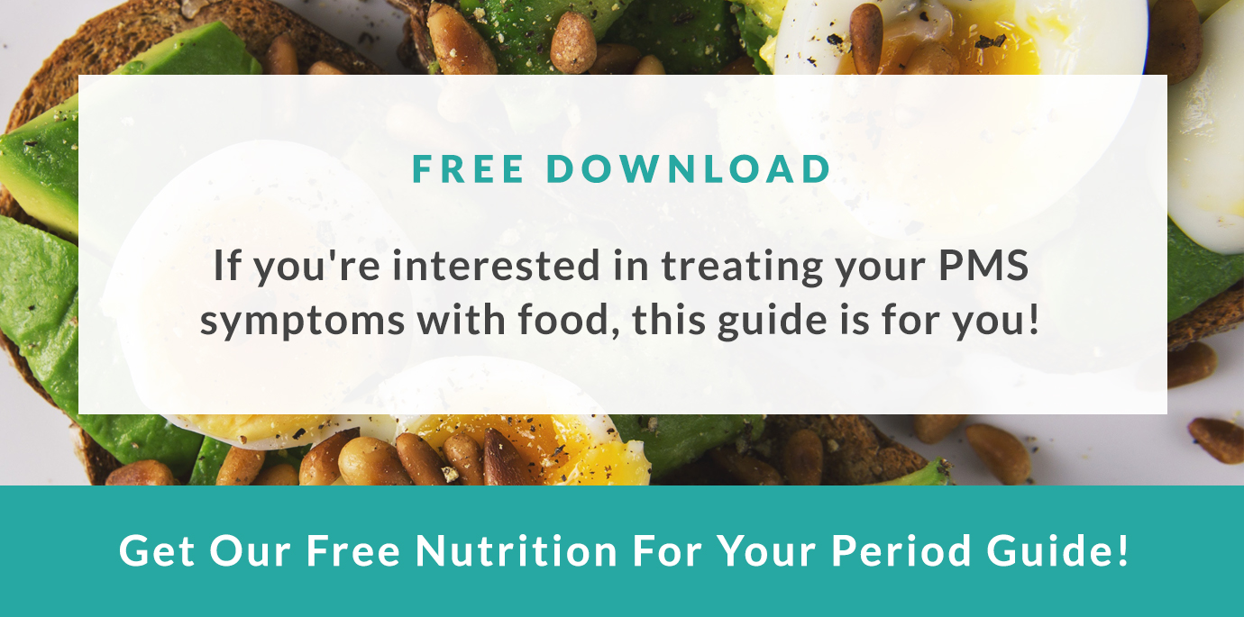 Get Our Free Nutrition for your Period Guide