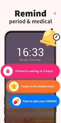 Period Tracker - Period Calendar Ovulation Tracker 1.713.216.GP Screenshots 4