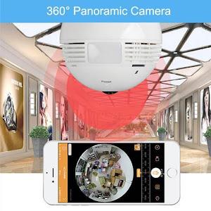 Camera de supraveghere in bec - IP Wireless HD 960P Panoramica 360 grade