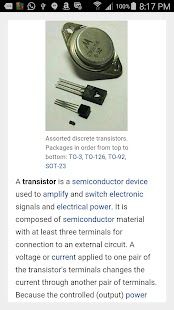 Electronics Circuits- screenshot thumbnail