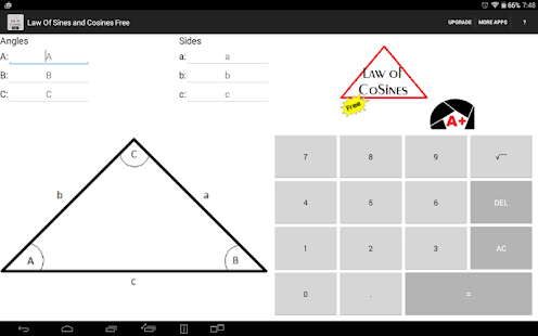 Law Of Sines And Cosines Free Apps On Google Play