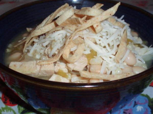 White Bean Chili Recipe
