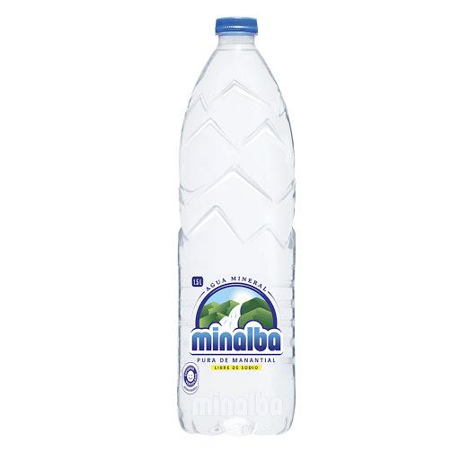 agua minalba botella pet 1,5 lt