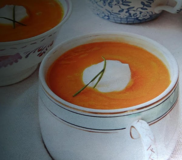 Roasted Carrot Soup Recipe