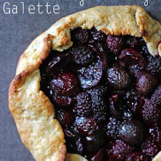 Blackberry Cherry Galette