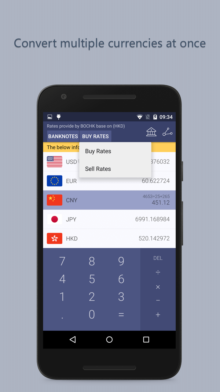 Currency Exchange NoAd Screenshot