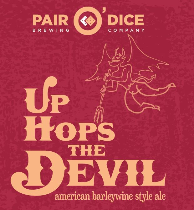 Logo of Pair O' Dice Up Hops The Devil