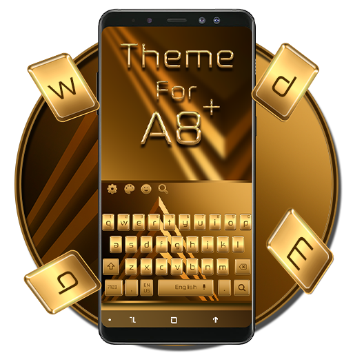 Keyboard Theme For Galaxy A8 Plus