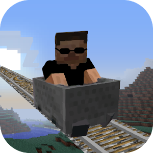 Mine Cart Minecraft Adventures for PC and MAC