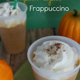 Copycat Pumpkin Spice Frappuccino