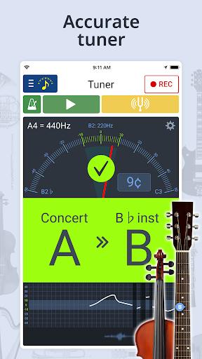 بندول الايقاع & Tuner screenshot