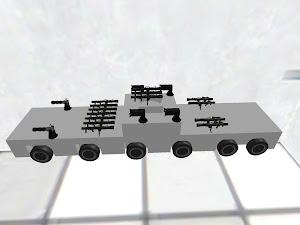 missile car