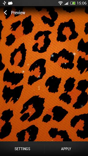 Animal Print Live Wallpaper