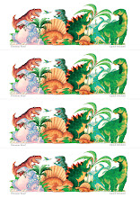 Photo: Dinosaur Roar! Bookmarks to download, print and share. All sorts of dinosaurs eating up their lunch... I am giving these Dinosaur Bookmarks out to all the children that I am meeting in this busy month of Children's Book Festivals, so here they are for you and your little monsters kids too! Please share with all dinosaur crazy kids, of any age!  Lots more free stuff herebit.ly/PaulSticklandFreeStuff  #dinosaurs #dinosaurroar #freestuff  #childrensbooks