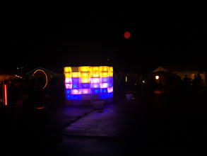Photo: art installation, moon
