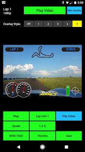 TrackAddict - náhled