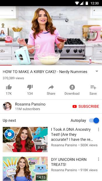 Screenshot - YouTube