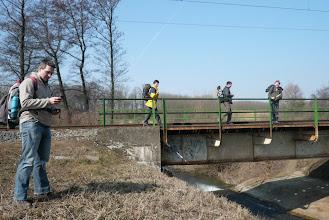 Photo: a hídon keltünk át