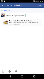 Quick Cricket LIVE screenshot