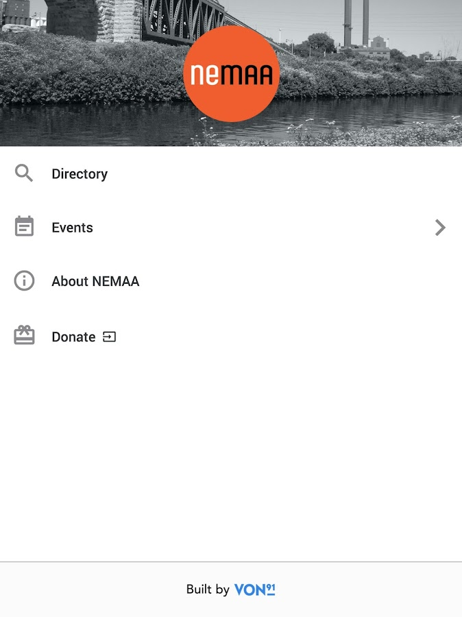 NEMAA App- screenshot