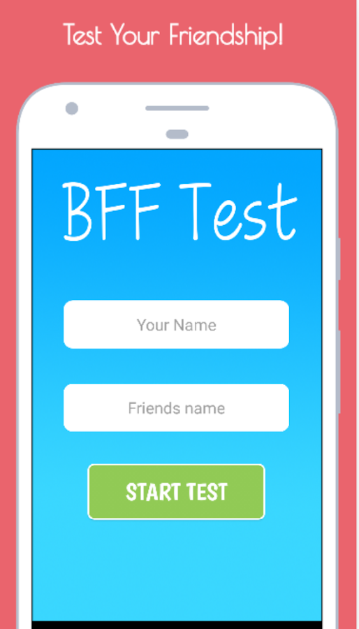 BFF Friendship Test- screenshot