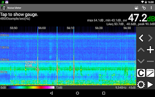Screenshot of Noise Meter
