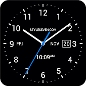 Analog Clock Live Wallpaper-7 PRO