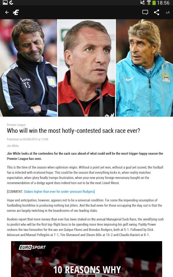Eurosport.com- screenshot