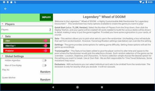 Wheel Of Fate: A Legendary Randomizer 1.4.2 screenshots 9