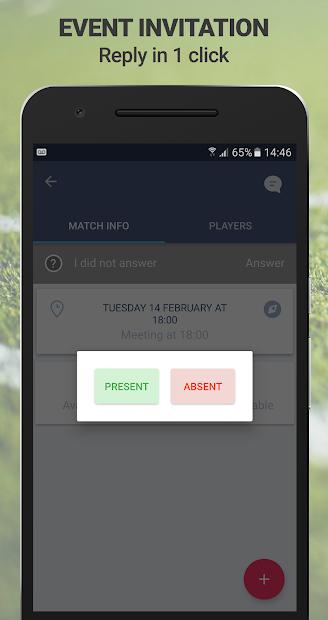 SportEasy Android App Screenshot