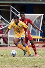 Photo: Quentin Rushenguziminega (10) [Rwanda Vs Ghana AFCON2017 Qualifier, 5 Sep 2015 in Kigali, Rwanda.  Photo © Darren McKinstry 2015]