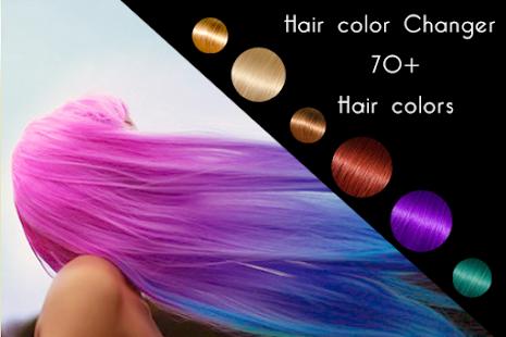 Change Hair Color- screenshot thumbnail