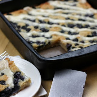 AIP Lemon Blueberry Coffeecake {egg-free, dairy-free, nut-free}