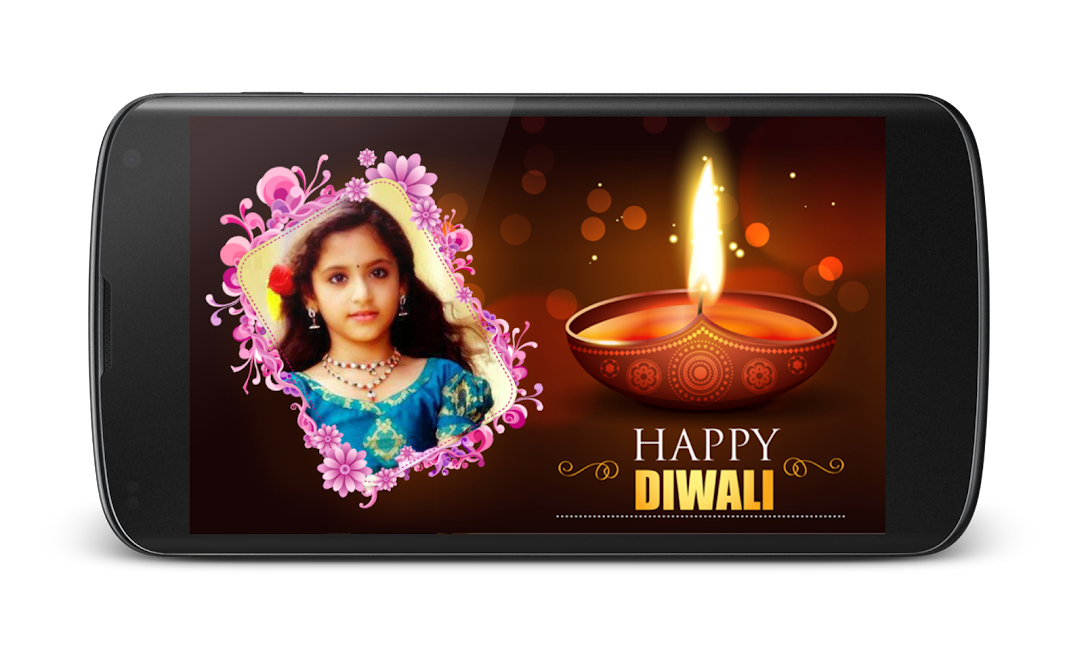 #3. Diwali Photo Greeting Frames (Android)
