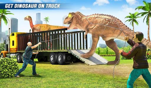 Angry Dino Zoo Transport: Animal Transport Truck 27 screenshots 9